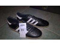 Adidas Ashington BNIBWT and reciept. UK size 8.5. Bobby Charlton, Manchester United.
