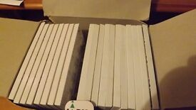 White Double Blanking Plate for Double Socket box of 19