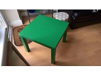 Ikea Lack small green coffee side table, brand new