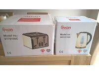 Brand new kettle and toaster set. Collection only.