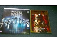Doctor Who 50th anniversary souvenirs - mint condition - £6
