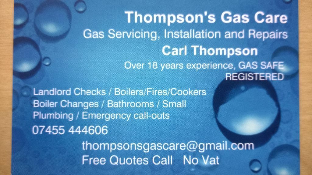 Plumber,Gas Fitter £52 BOILER servicing NO VAT*,Repairs & Boiler changes & Upgrades. Gas Breakdowns.