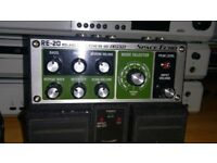 BOSS RE-20 Delay and Reverb Pedal –Roland RE201 Stompbox Version Amazing Performance Instrument