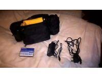 Camcorder Sony Handycam model-CCD-TRV228E,very light use.