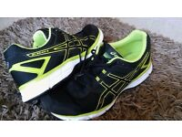ASICS mens GEL-GALAXY 8 running trainers BLACK/ONYX - Size UK 10