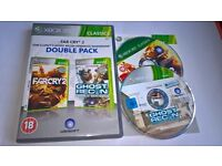 Far Cry 2 / Ghost Recon AW - Xbox 360 Game