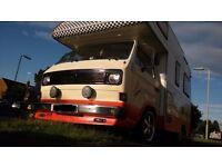 Karmann Gipsy Motorhome T3 vw T25 camper bus transporter