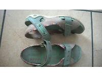 Ecco sandals size 36/ UK 3-4