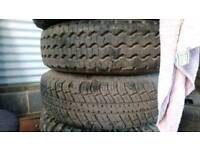 Transit mk4/5 wheels tires 185 15c