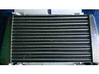 Apexi large top feed pipe intercooler