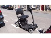 For Sale Mobility Scooter upto 4Mph Good Cond 18/20 stone rider 8/10 miles distance