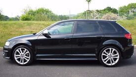 Audi S3 Sportback in black - Excellent Condition - Just Serviced - Full History