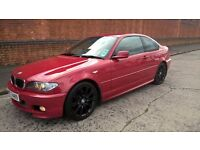 06 BMW 320CD MSPORT COUPE 150BHP 6 SPEED MAY PX