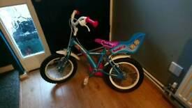 Girls appollo pompom bike