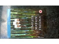 THE MATRIX COMPLETE BLURAY BOXSET MINT