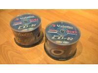 Verbatim CD-R 700 MB 52 X DataLifePlus (spindle package of 50 discs) – Brand new sealed £6 each