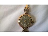 9ct yellow gold ladies Rotary bracelet watch - 1964
