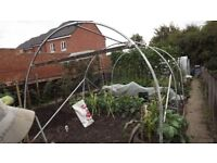 polytunnel frame app 8ft wide x 12ft long x 7 ft high