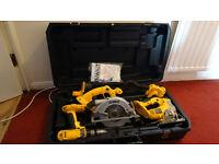 Dewalt Tool Set, 18V, Ashford,Kent