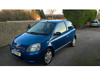 Toyota Yaris - Very clean car - NEW MOT - 1.0 VVTI - Air conditioning - 94000 miles - Reliable! !