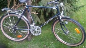 vintage kalkhoff bicycle,stainless wheels mudguards etc,beautiful classic,early 1980,s