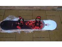 Nidecker Snowboard, Bindings and Boots