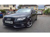 2010 (59) Audi A4 2.0TDI S line Black Edition DSG **FSH** Fully Loaded**