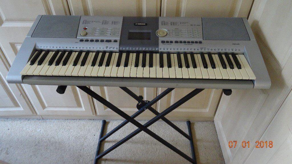 Yamaha psr 295 keyboard stand in broadstone dorset for Yamaha clp 295
