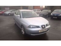 2006 seat ibiza 5 door cheap to run and insure px welcome