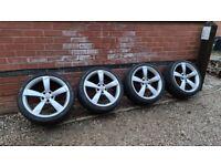 "Genuine Audi TTRS Rotor 19"" TT Alloy Wheels 5x112 8J0601025AM 9J ET52"
