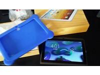 Brand new boxed tablet with case on android quick sale 35pounss can post 8gb