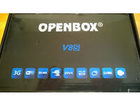 Openbox V8S Freesat Receiver.