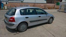 2001 honda civic 1.6 se v-tech 5 door hatchback silver