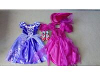 Girl's dressing up clothes aged 2-3 years