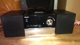 Bush CMC1i CD Micro Stereo Audio System with IPod, IPhone Dock - Black
