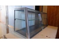 Vintage shop counter showcase display unit. For antique fairs, car boots and secondhand retail units
