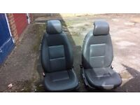 saab 9-3 seats removed from a VW T4