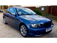 BMW 330CD SE AUTO Full service history BMW