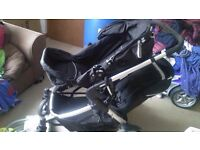 Hauck twin pushchair