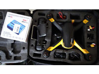 Drone - Hubsan H109S X4 Pro w/gimbal, 1080P camera, hard backack, spare battery, charger, etc.