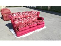 Settee with wings collect for ONLY ONLY £5 £5