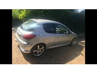 Peugeot 206 1.4 Quicksilver *spares/repair*
