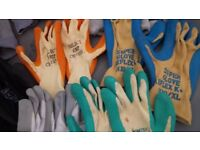 10pr of high quality work gloves
