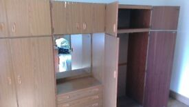 Two Wardrobes and Chest of Drawers - Schreiber