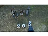 Subaru wrx pedal set