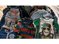 Bargain Bundle of Boys Clothes aged 4-6years (over 60 items)