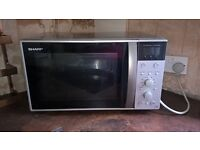 High powered Sharp combi microwave