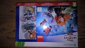 Disney Infinity XBox 360, 2.0 & 3.0 gaming bundle with characters