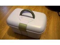 Empty Johnsons Baby Box - Lilac