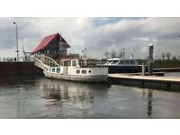 Beautiful Dutch Barge for Sale
